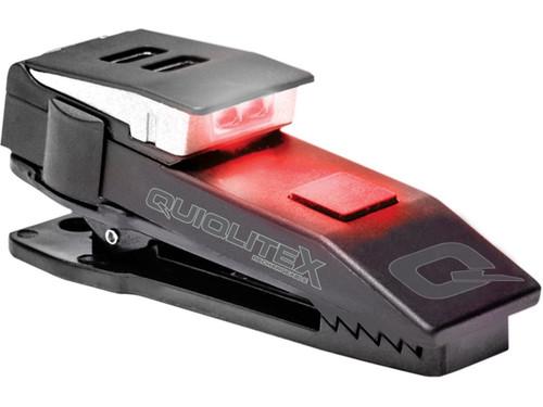 QuiqLiteX USB Rechargeable Uniform Mount LED Light (Color: White / Red)