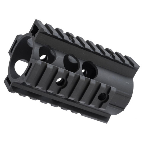 "ZCI CNC Aluminum Quad Rail Free Float Handguard for M4 / M16 AEG Rifles (Length: 4"")"
