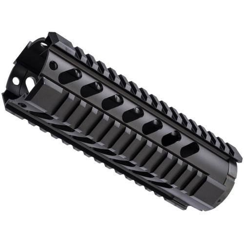 "ZCI CNC Aluminum Quad Rail Free Float Handguard for M4 / M16 AEG Rifles (Length: 7"")"