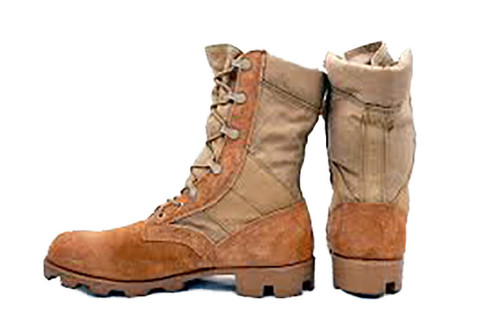 U.S. Armed Forces Issue Hot Weather Boots Type II Panama Sole - Size 8 Regular