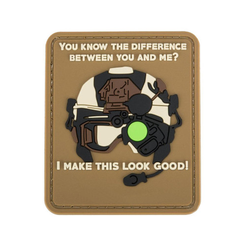 """Matrix """"Difference Between You and Me"""" PVC Morale Patch"""
