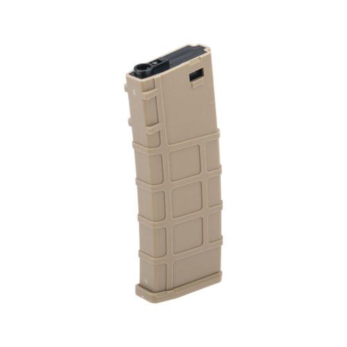 Lonex 200rd Mid-Cap Polymer Magazine for M4 M16 AEG Rifles (Color: Tan / Single)