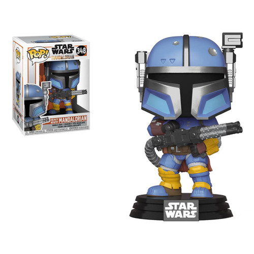 Funko POP! Star Wars: The Mandalorian (Figure: Heavy Infantry Mandalorian)