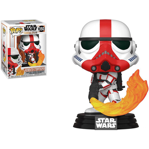 Funko POP! Star Wars: The Mandalorian (Figure: Incinerator Stormtrooper)