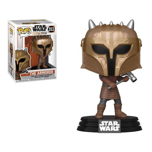 Funko POP! Star Wars: The Mandalorian (Figure: The Armorer)