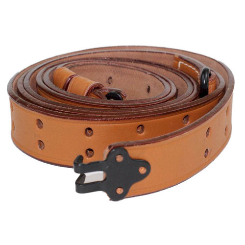 M1 Garand Rifle 1907 Pattern Leather Sling With Steel Fittings