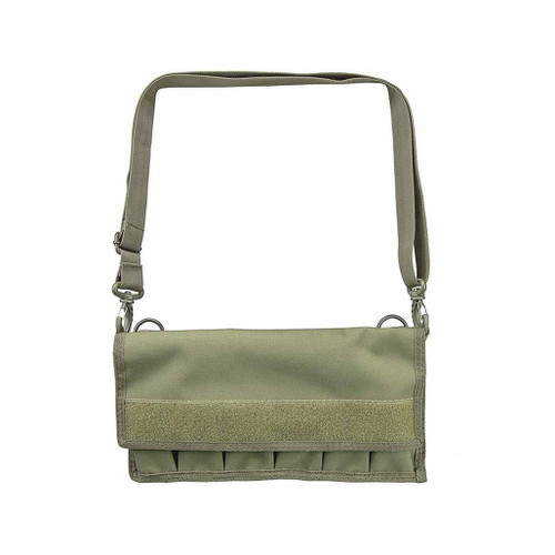 NcStar Large Pistol Magazine Carrier w/ Shoulder Strap (Color: OD Green)