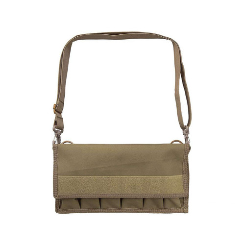 NcStar Large Pistol Magazine Carrier w/ Shoulder Strap (Color: Tan)