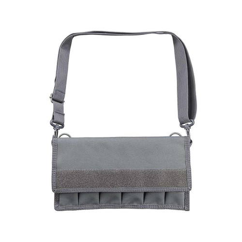 NcStar Large Pistol Magazine Carrier w/ Shoulder Strap (Color: Urban Grey)