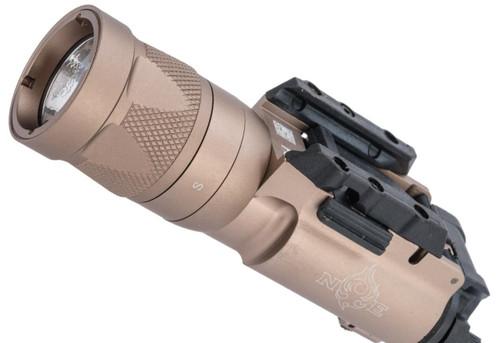 Night Evolution Tactical LED Weapon Light w/ Strobe (Color: Desert Tan)