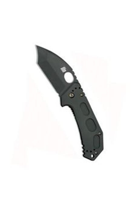 Ka-Bar Fin Frame Lock w/Hawkbill Tanto Plain Edge Folding Knife