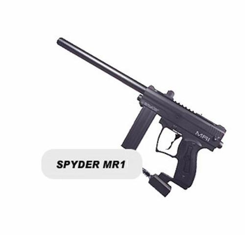 KINGMAN SPYDER MR1 PAINTBALL GUN - BLACK - BONEYARD