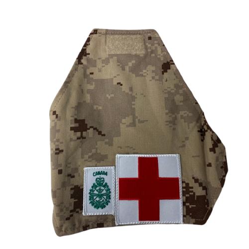 Canadian Armed Forces Medical Service Armband Brassard - Desert Digital