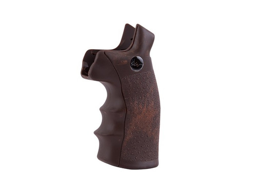 Dan Wesson Brown Revolver Grips