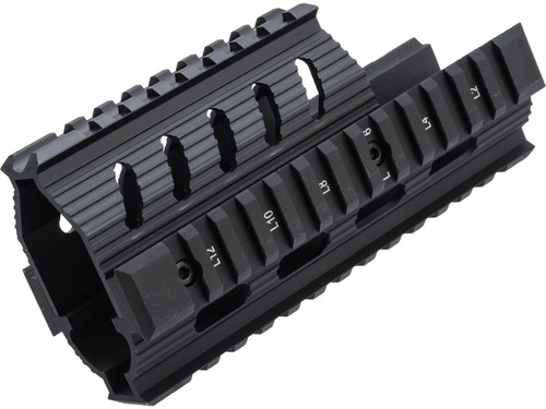 LCT Airsoft Railed Handguard for LCT AK Airsoft Rifles (Model: TX-1)
