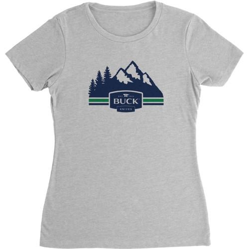 Womens Mountains T-Shirt XL