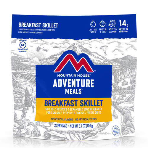 Mountain House Freeze Dried Camping Food - Breakfast Skillet