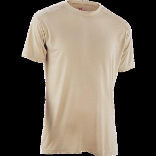 U.S. Armed Forces DRIFIRE Fire Resistant Silk-Weight Short Sleeve Shirt - Desert Sand