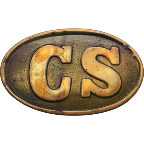 CS Oval Belt Buckle Replica
