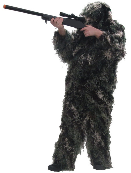 Hero Brand Camouflage Ghillie Suit - Woodland As Is