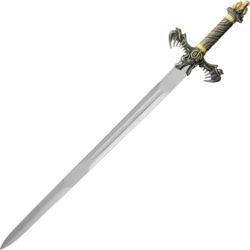 Barbarian Sword Brass