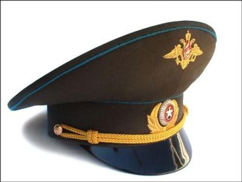Deluxe Russian Asst Visor Hats w/Insignia