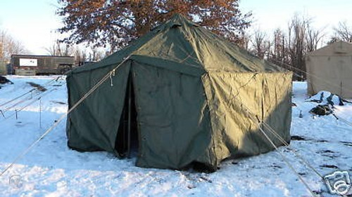 "General Purpose U.S. Armed Forces Small Tent-17'6""x17'6"" Vinyl"