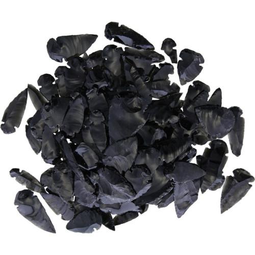 Black Obsidian Arrowhead Asst