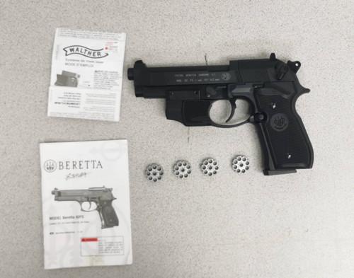 Beretta 92FS CO2 Pellet Pistol - USED W/ Laser