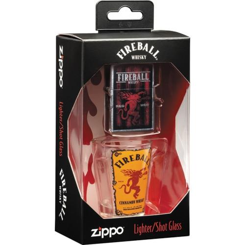 Fireball Shot Glass Set