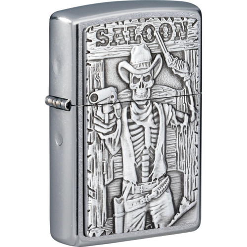Saloon Skull Lighter