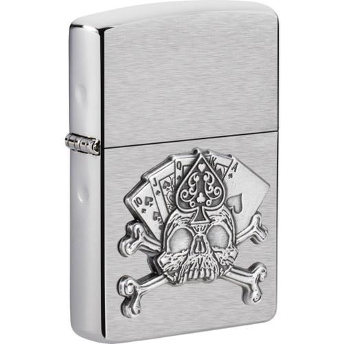 Card Skull Emblem Lighter