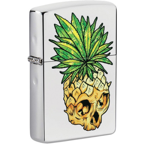 Leaf Skull Pineapple Lighter
