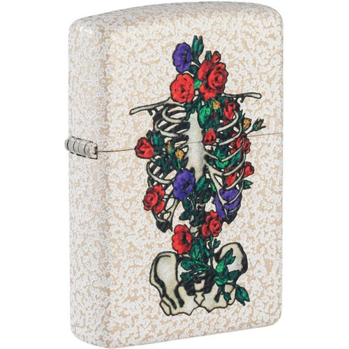 Floral Skeleton Lighter