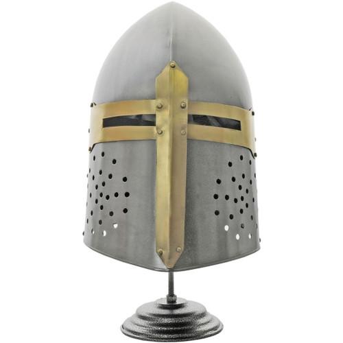 Decorative Crusader Helmet