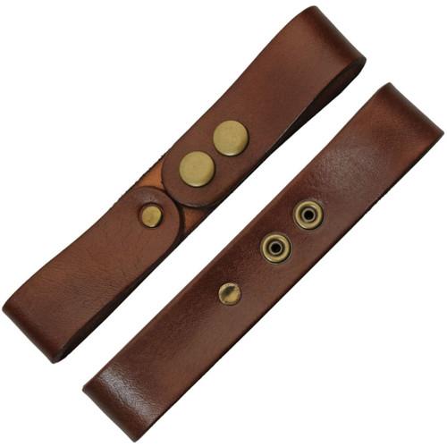 Frog Belt Sword Hanger Brown