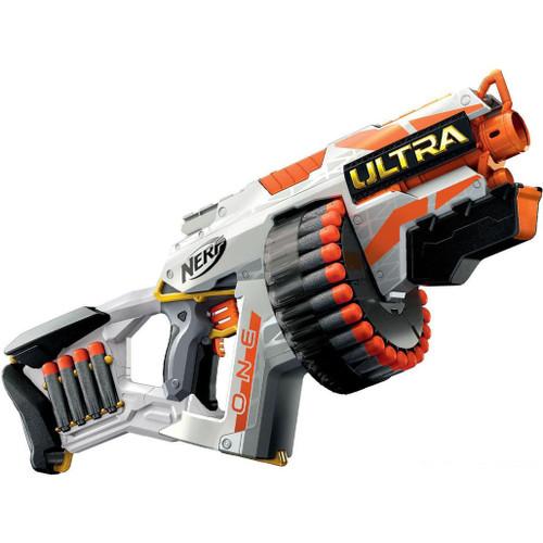 Nerf Ultra One Motorized Foam Dart Blaster w/ High Capacity Drum