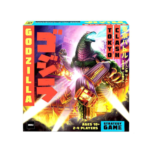 Funko Signature Games Godzilla: Tokyo Clash Strategy Game