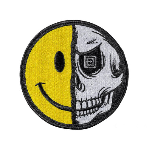 """5.11 Tactical """"Always Be Happy"""" Embroidered Morale Patch"""