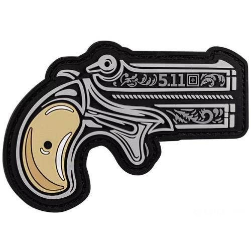 """5.11 Tactical """"Hand Gun"""" PVC Morale Patch"""