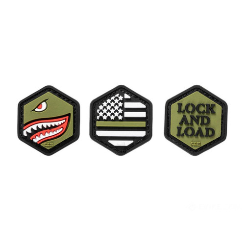 5.11 Tactical Hex Morale Patch Set (Style: Armed Forces)