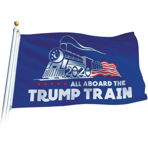 Trump Train Flag