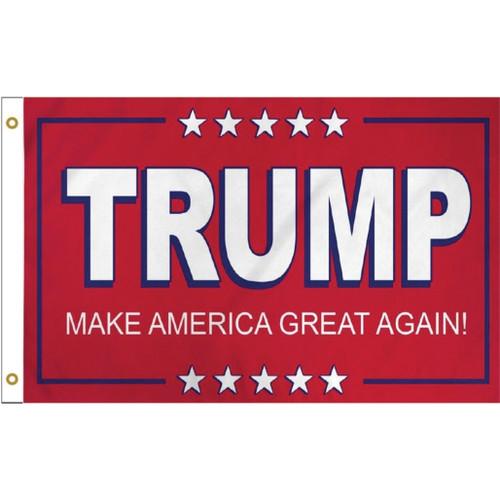 Trump Make America Great Flag