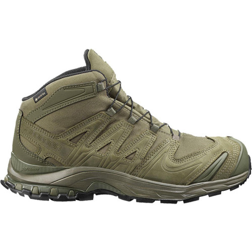 Salomon XA Forces MID GTX EN Tactical Boots - Ranger Green (Size: 12)