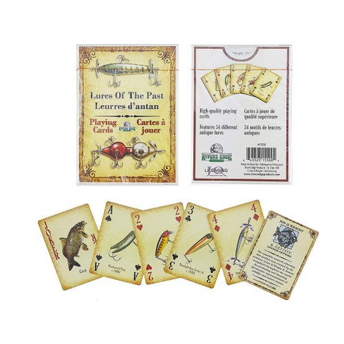 River's Edge Playing Cards (Type: Antique Lures)