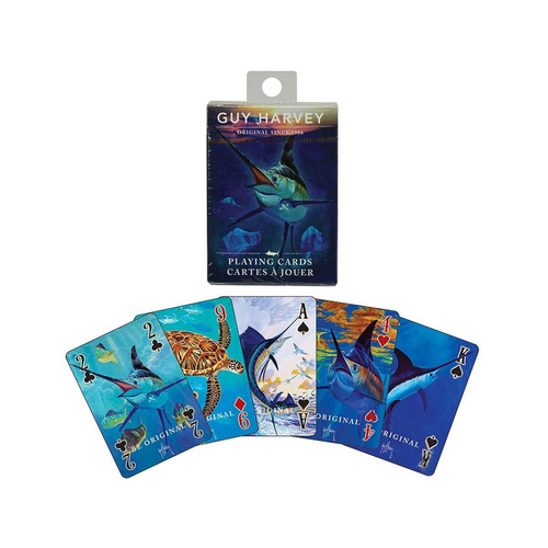 River's Edge Playing Cards (Type: Guy Harvey)
