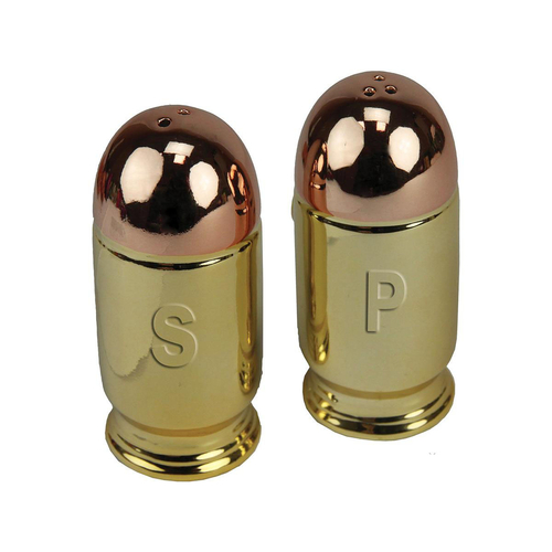 River's Edge Salt and Pepper Shakers (Type: Bullet)