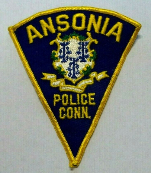 Ansonia CT Police Patch