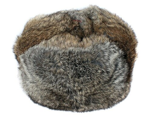 Authentic Russian Rabbit Fur Ushanka