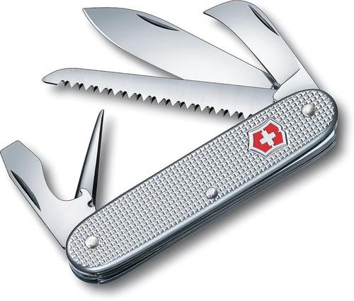 Swiss Army 7 Silver Alox